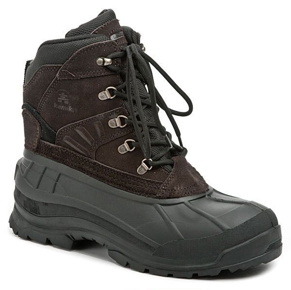KAMIK Fargo hnědé pánské zimní boty EUR 44