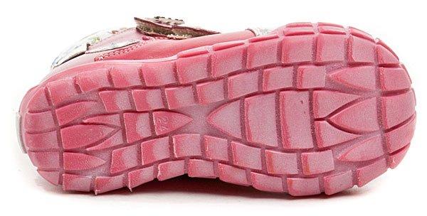 KTR 162 růžové dětské botičky  11eeff07bb