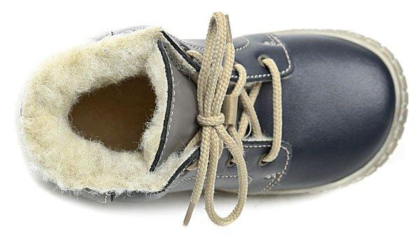 c878e73d6ef Pegres 1700 modré dětské kotníčkové boty. Dětská zimní vycházková  kotníčková obuv ...