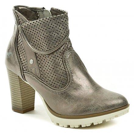 82a045ae693 Mustang 1214-503-258 bronzová dámská obuv