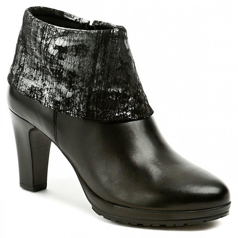 44ea3acb7c1 Tamaris 1-25460-27 black dámské kotníčkové boty