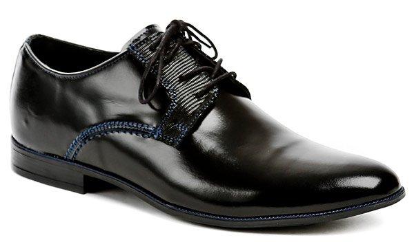 Mateos 568 černé pánské společenské boty  4fbe286285