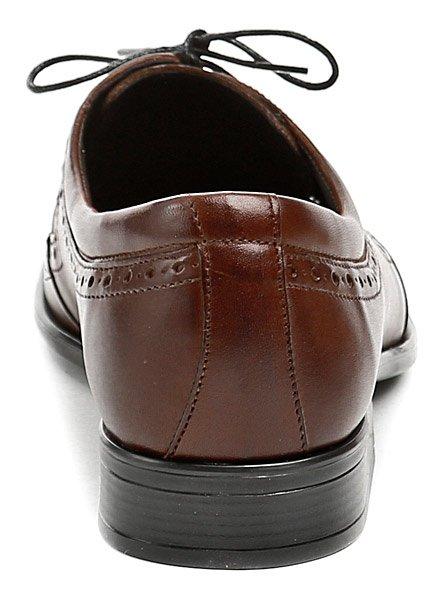 03ff38a043 Tapi 1677 hnědá pánská společenská obuv. Pánská celoroční společenská ...