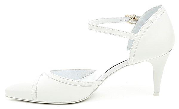 6b0df9ba139 Anis AN4431 bílá dámská svatební obuv