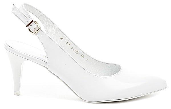 33aa6b4f6a5 Anis AN4403 bílá dámská svatební obuv
