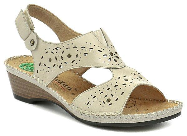 Reflexan 31804 béžové dámské sandály EUR 37