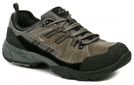 8ae6791fc09 Power 701M šedá pánská outdoroová obuv