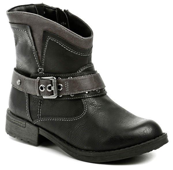 Reflexan 10450-02 černá dámská kotníčková obuv EUR 36