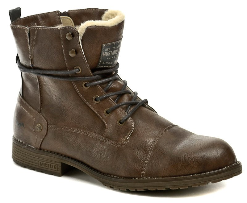 62c3978ae5d3e Mustang 4119-603-360 hnědé pánské zimní nadměrné boty | ARNO.cz