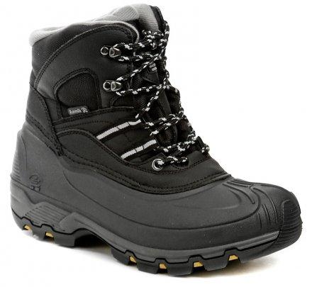 Kamik Warrior 2 black pánské zimní boty b5df91f9944