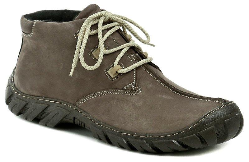 Koma 80 hnědé pánské nadměrné zimní boty EUR 49