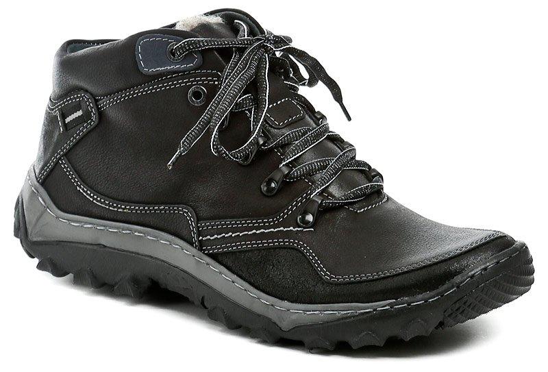 Mateos 250 černé pánské zimní boty EUR 43
