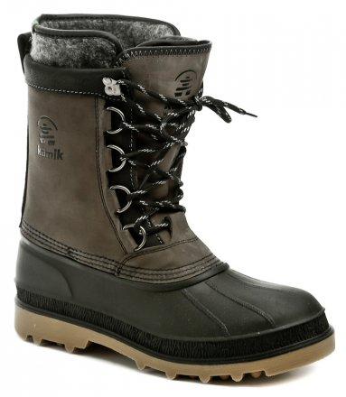 c4e36f544ab2 Kamik William šedé pánské zimní boty