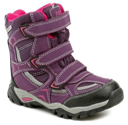Peddy PX-531-30-01 fialové dívčí zimní boty 0e0254832c