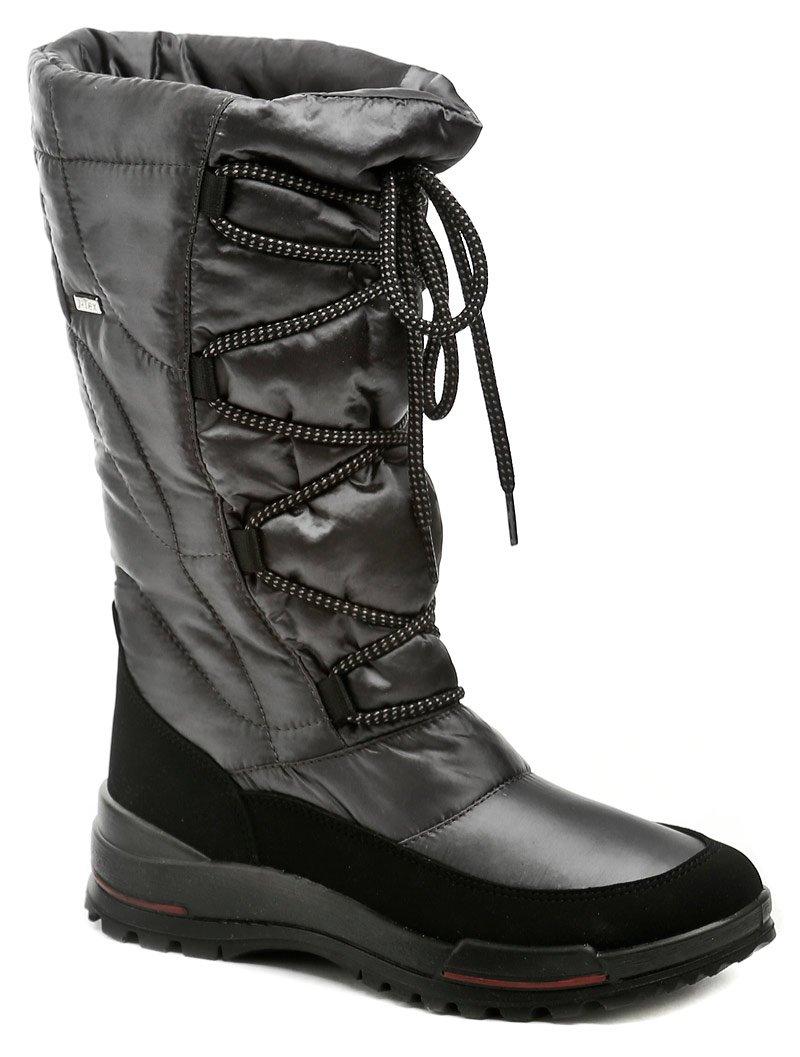 2454a269e8b Jacalu 6200.20 šedé dámské zimní boty šíře F