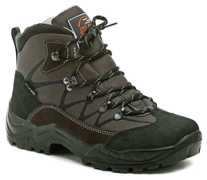 2e3356942c9 Jacalu 3696-28-J khaki pánské zimní outdoorové boty