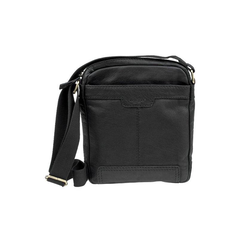 Lagen LN 20654 černá kožená taška přes rameno