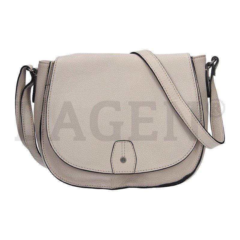 Lagen 23311 SAND dámská kožená kabelka
