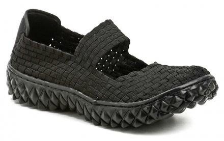 Rock Spring OVER černá dámská gumičková obuv f2328d6cf3