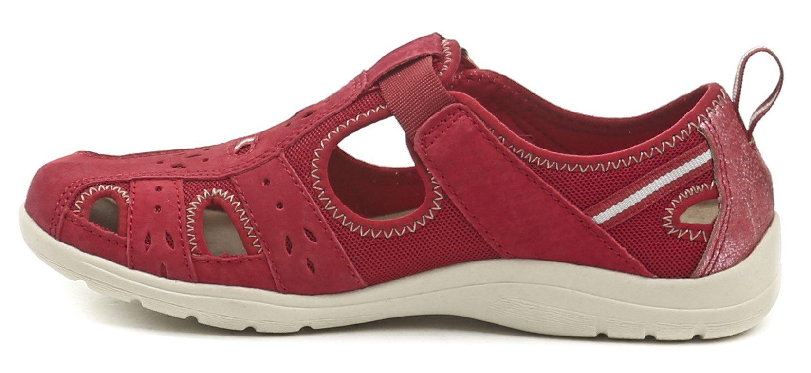 Earth Spirit Cleveland červená dámská letní obuv  30fd21822f2