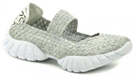 8ef66213421 Rock Spring DNCE šedá dámská gumičková obuv