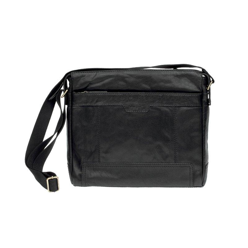 Lagen LN 20653 černá kožená taška přes rameno