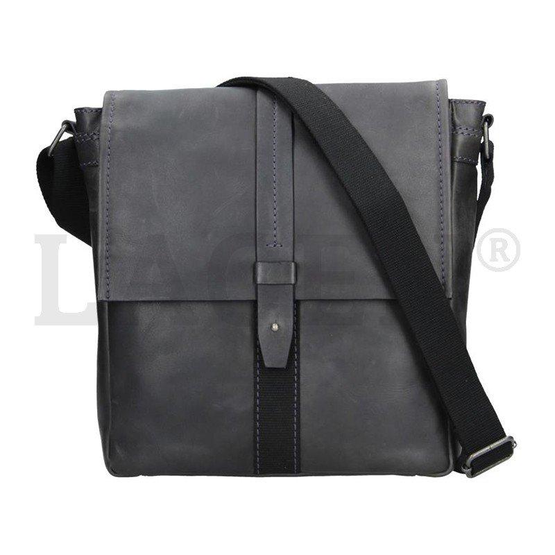 Lagen 22420 navy kožená taška přes rameno