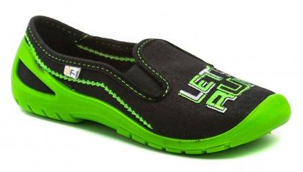 3F dětské černo zelené tenisky LETS RUN 4RX2-4 63cf4686c2