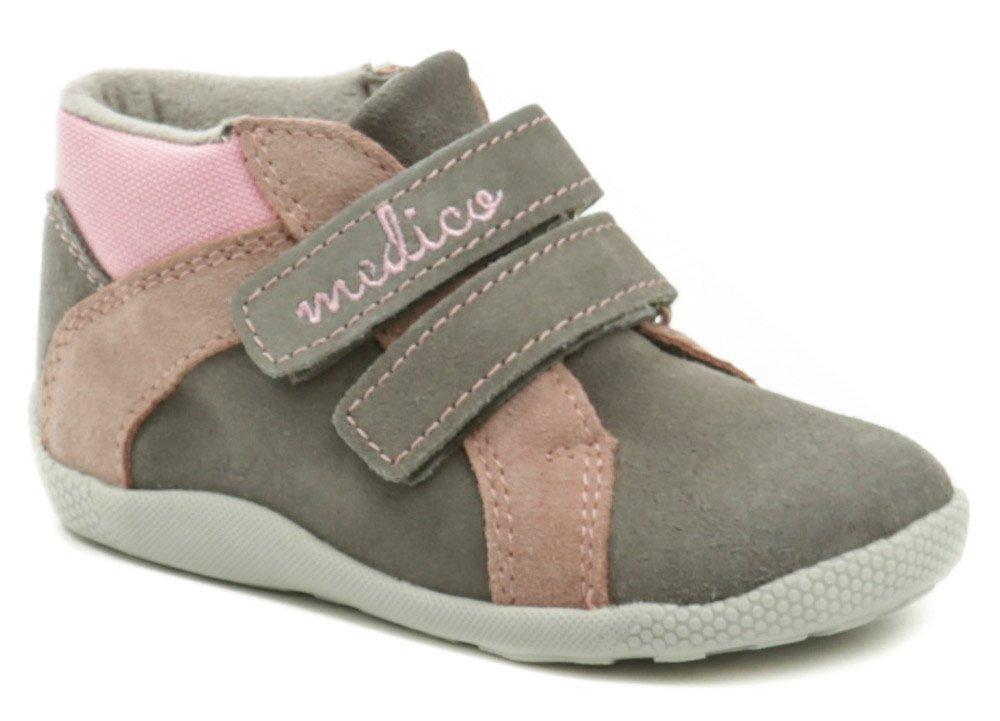 Medico EX4830A-1 šedo růžové dětské boty EUR 25