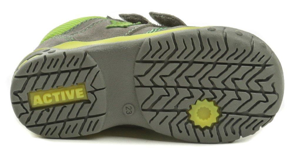 Medico EX5001 šedo zelené dětské boty  079f9727fc