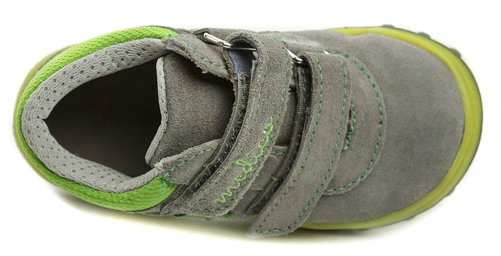 Medico EX5001-1 šedo zelené dětské boty  f21580859e