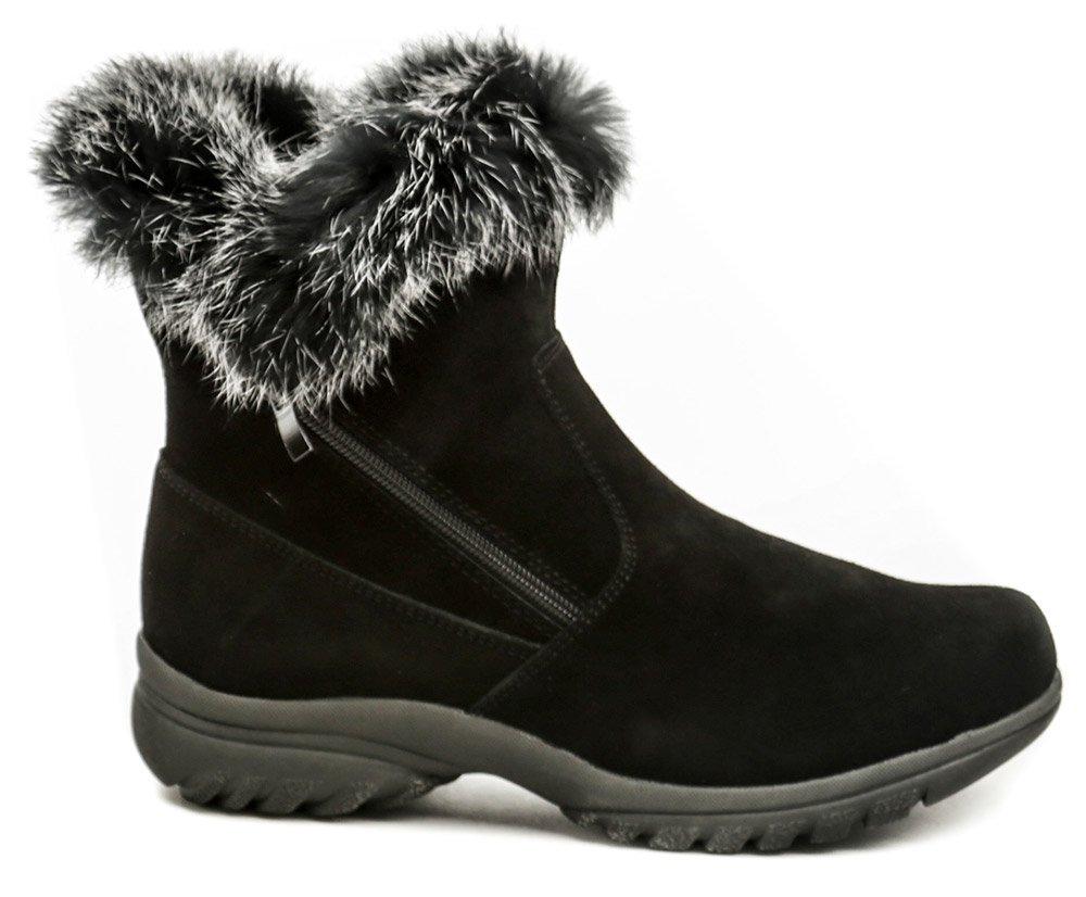 606365abdcc8 Topway B752128 černé zimní dámské kotníčkové boty