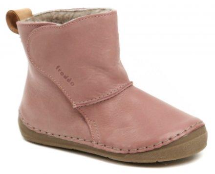 a602b0eaa03 Froddo G2160040-7K růžové dětské zimní boty