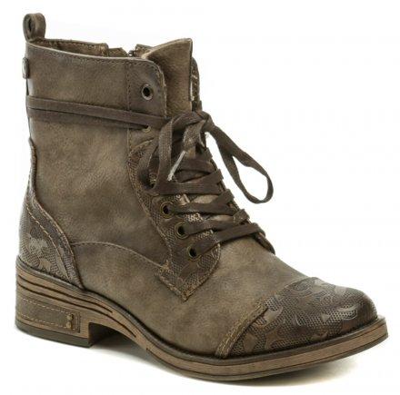 Mustang 1293-501-360 hnědá dámská obuv 66e62a8486