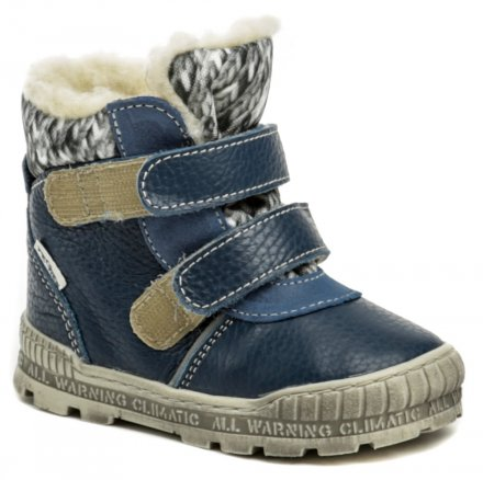 Pegres 1702 modrá dětská zimní obuv 4e4367e028