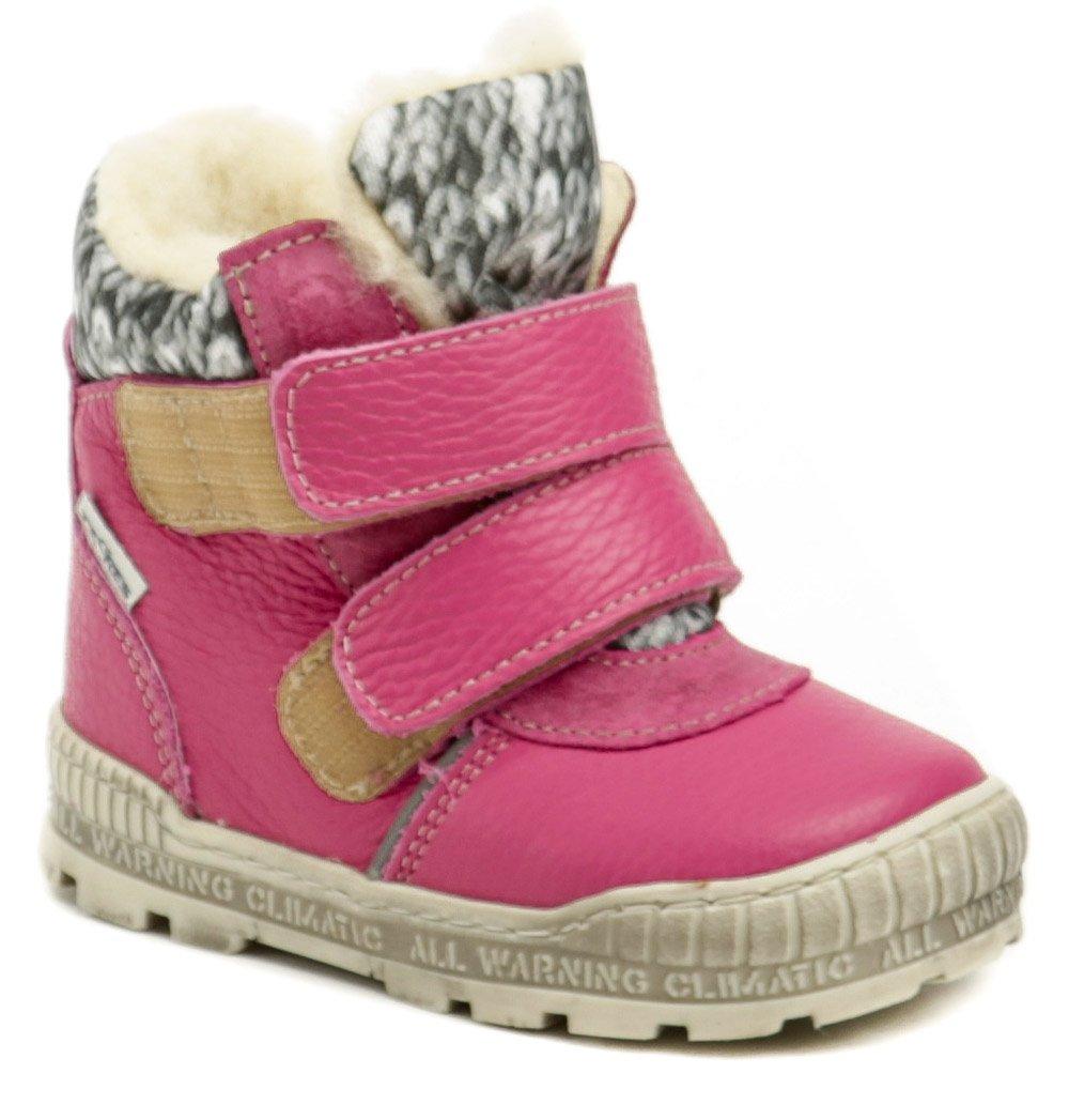 Pegres 1702 růžová dětská zimní obuv EUR 25
