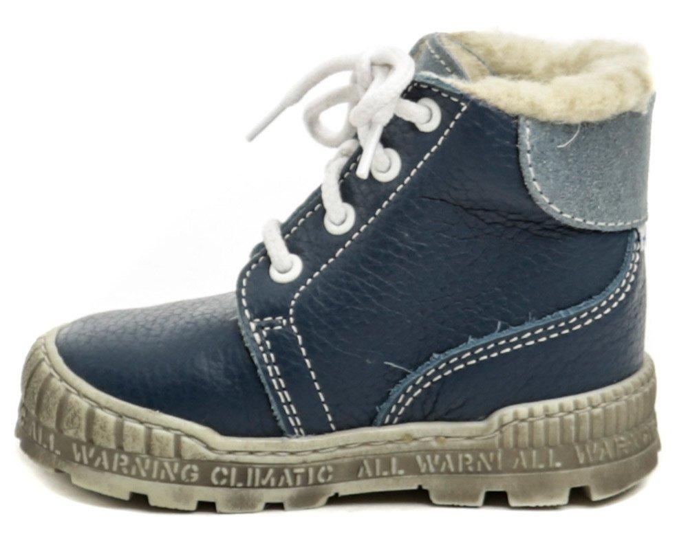 Pegres 1700 modrá dětská zimní obuv  25051cd7ac