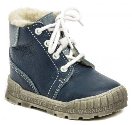 1ad4ffa5f99 Pegres 1700 modrá dětská zimní obuv