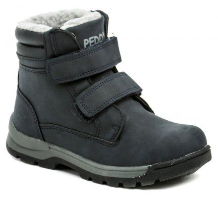 Peddy P1-536-37-05 modré dětské zimní boty b63545b76b