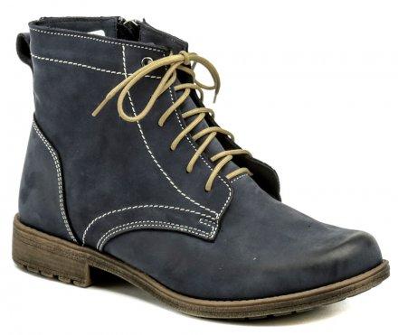 0c1b61333f7 Mintaka 652 modré dámské zimní boty