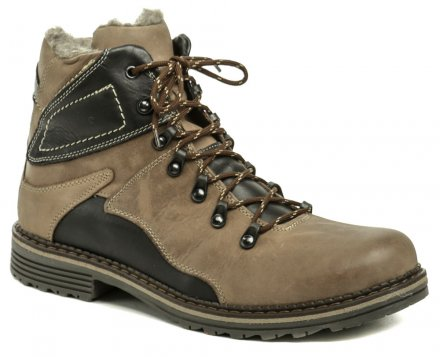 ccd4589eeec Mintaka 82220-14 hnědé pánské zimní boty