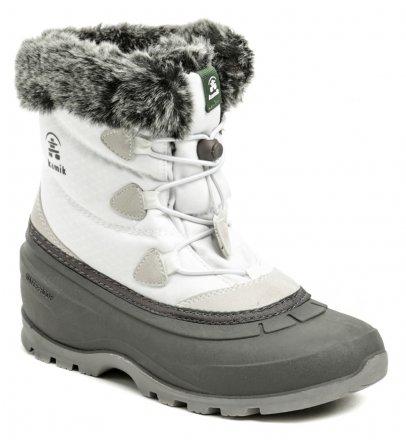 94ed81f23c8 Kamik MomentumLO White dámská zimní obuv šíře H