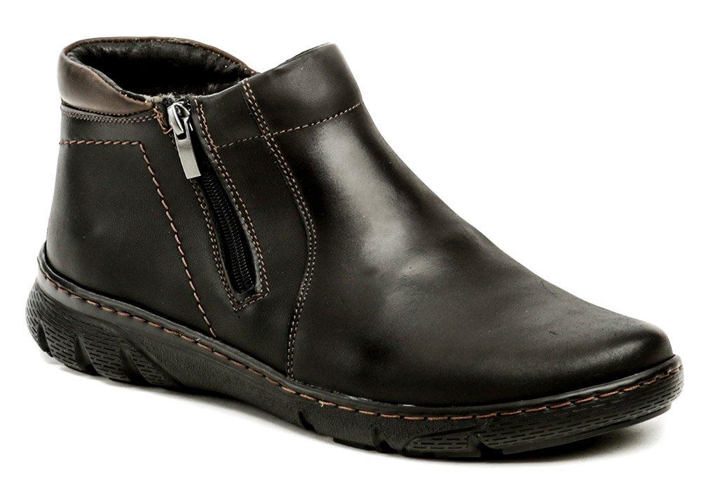 Mateos 798 černé pánské zimní boty EUR 42