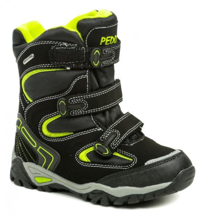 Peddy P1-531-36-05 černé dětská zimní boty 8ebf2427c7