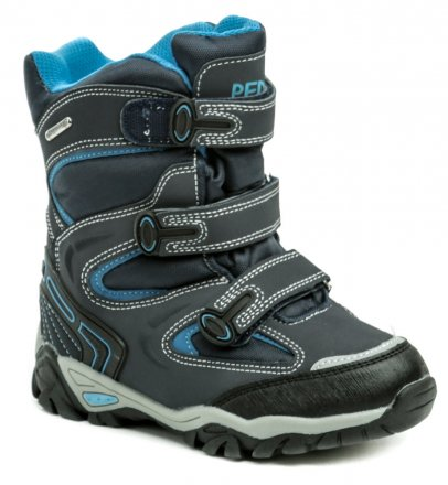 5936e693546 Peddy P1-531-36-05 modré dětská zimní boty