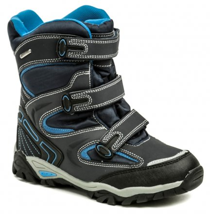 d70031e38d4 Peddy P1-231-37-05 modrá dětská zimní obuv