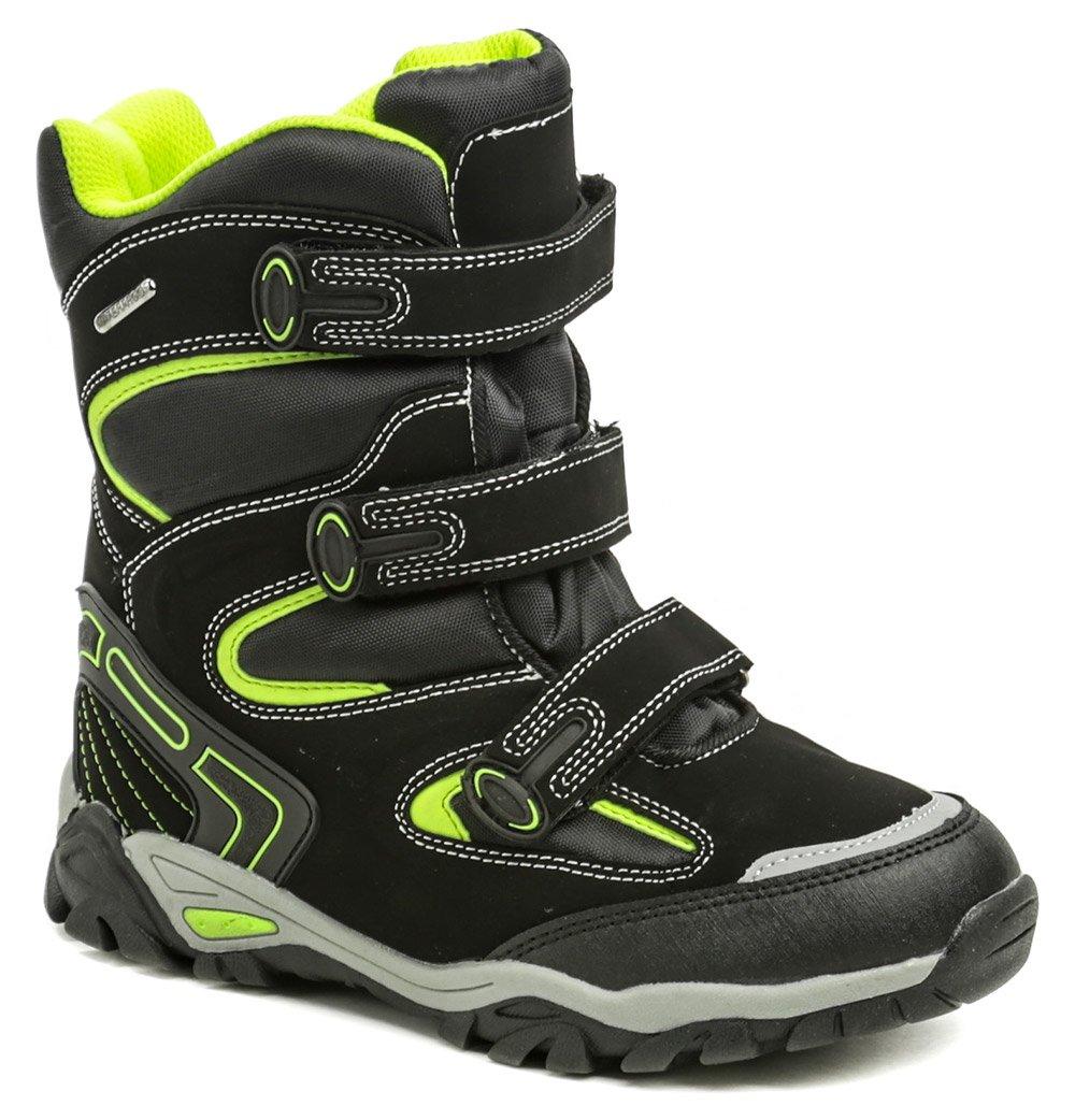 492d56d1cad Peddy P1-231-36-05 černá dětská zimní obuv