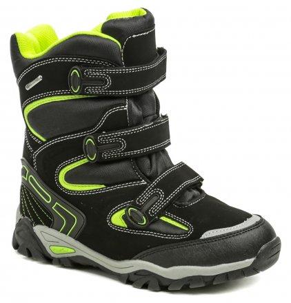 Peddy P1-231-36-05 černá dětská zimní obuv 8facedf659