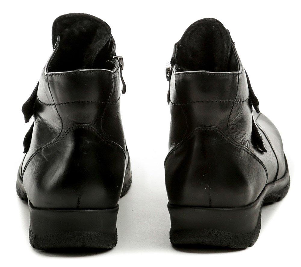 33ad5d76af8 Axel AX4002 černé dámské nadměrné zimní boty šíře H
