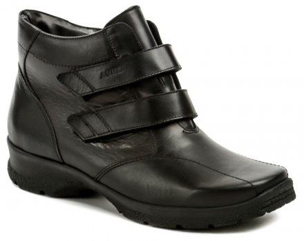 1b85beb25ff Axel AX4002 černé dámské nadměrné zimní boty šíře H